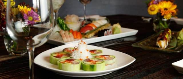Hanami Restaurant at Westwood is known for its innovative sushi and Chinese dishes.