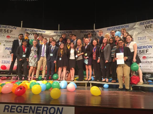 Pelham Memorial High School science research students excelled at the Regeneron Westchester Science and Engineering Fair.