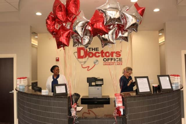 Midland Park welcomed the newest The Doctor's Office Urgent Care.