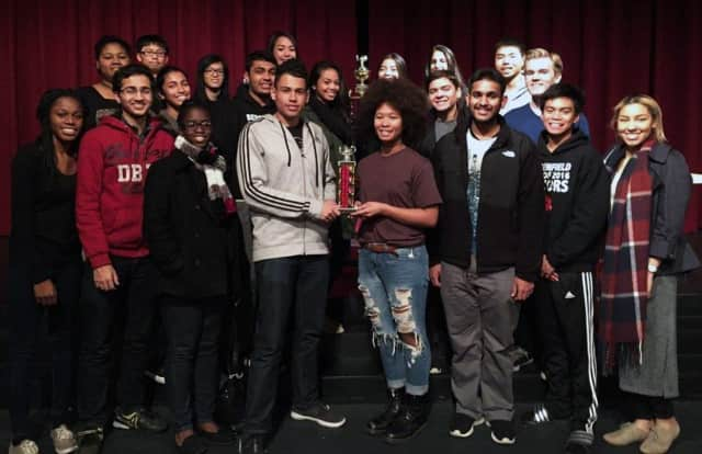 The Bergenfield Quiz Bowl team took third place at the Northern New Jersey Academic Competition.