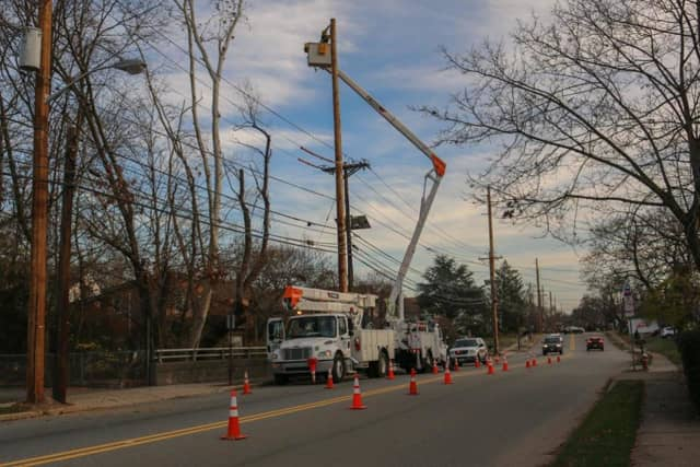PSE&G will be completing overhead construction in Ridgewood.
