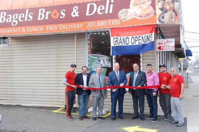 Bagel Bros opened on Market Street in Saddle Brook this month.