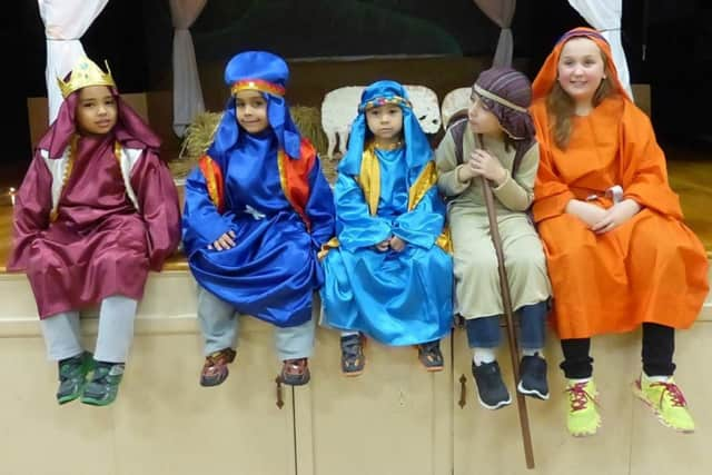 "Kids dress in character for last year's ""One Night in Bethlehem"" event at Bloomingdale United Methodist Church."
