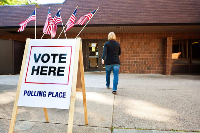 NJ polling site
