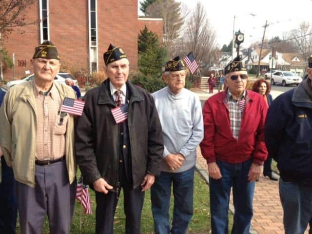 some of Fair Lawn's veterans