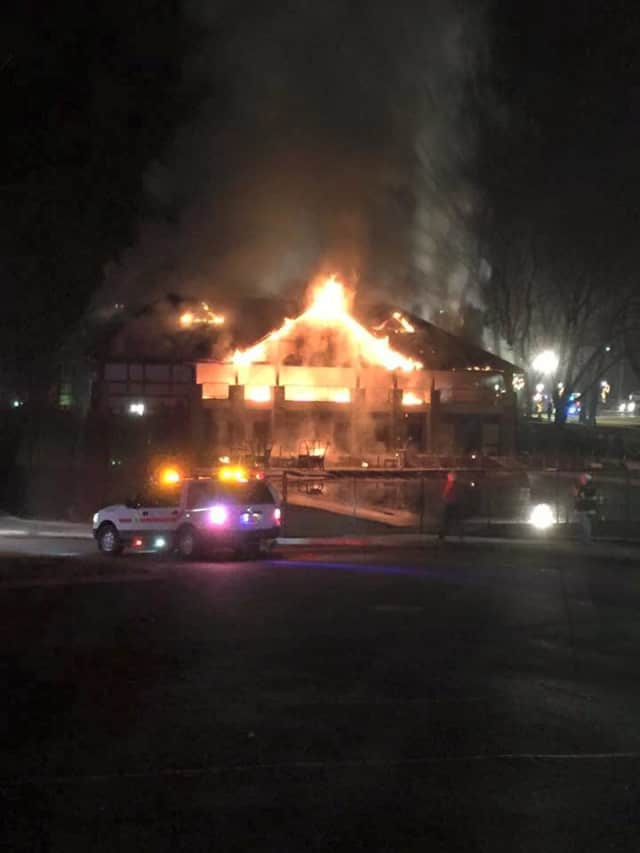 An investigation continues into a fire at the Briarcliff Pool Pavilion.