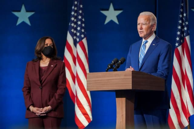 Democrat Joe Biden has won Pennsylvania, putting him on the path to become the 46th president of the United States.