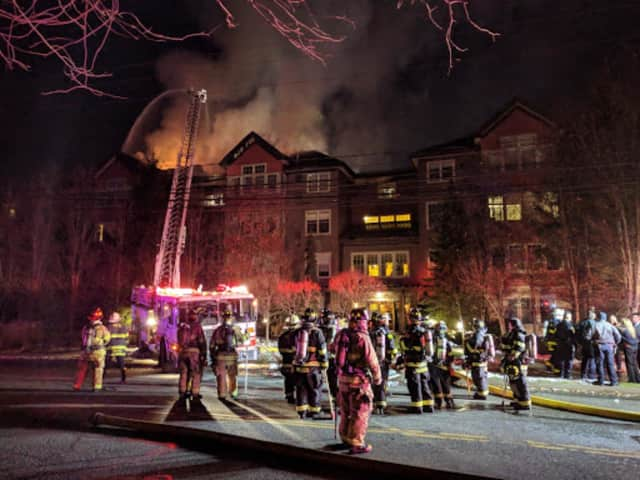 A large fire at a condo complex at 100 Richards Ave. in Norwalk in December left dozens homeless