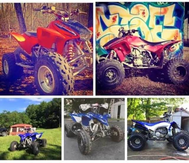 Images of the missing ATVs.