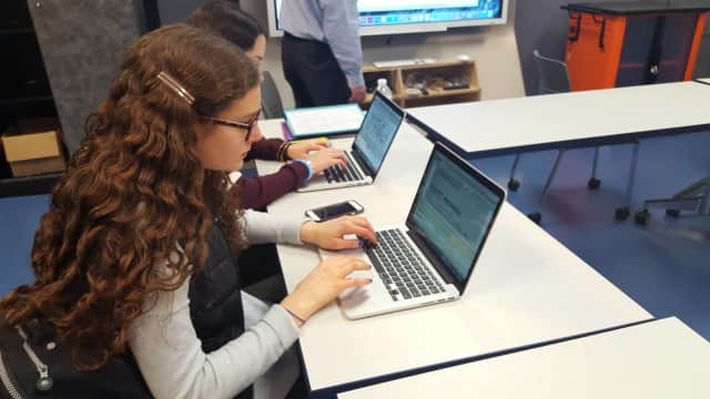 Select students from the Frisch School in Paramus are once again assisting with the Ancestry.com Holocaust database.