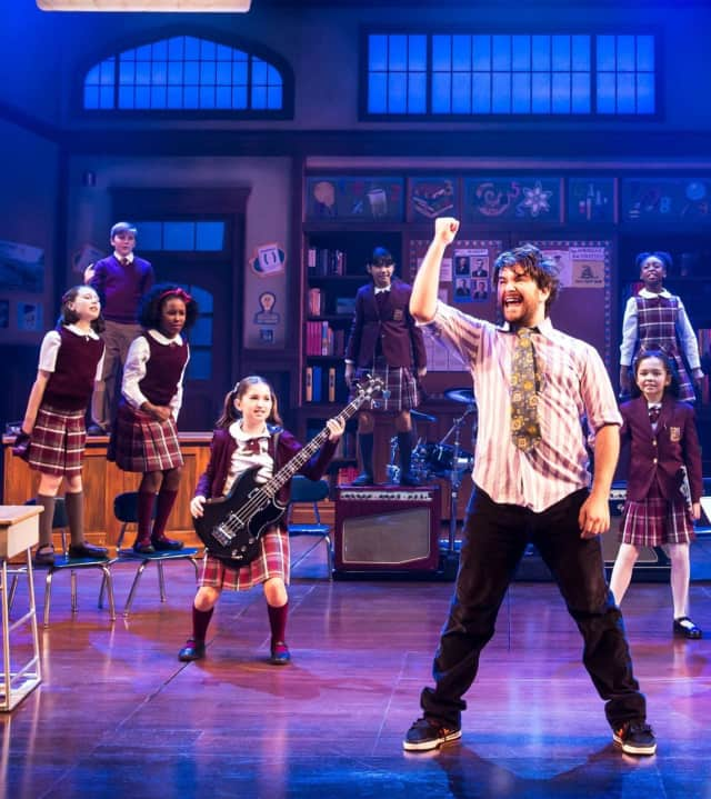 School of Rock the Musical is currently running at the Winter Garden Theater on Broadway between 50th and 51st.