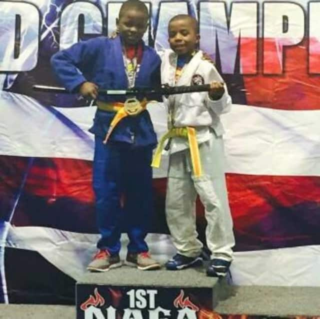 Paterson brothers Jalen and Jason will head to the jiu jitsu championships in California.