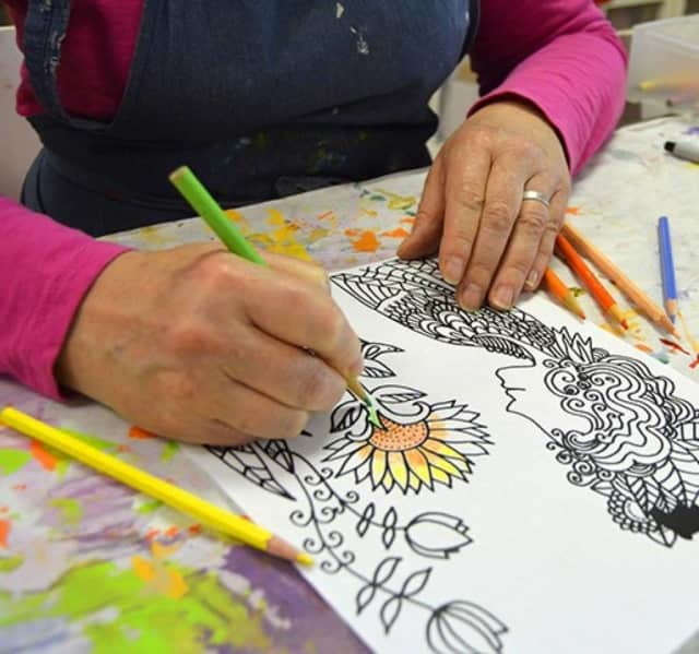 Bloomingdale Free Public Library will offer adult coloring classes.