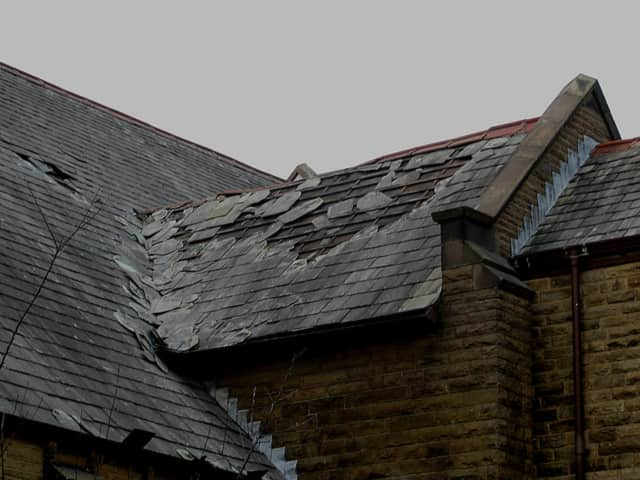 Contact KRS Roofing for repair or replacement.