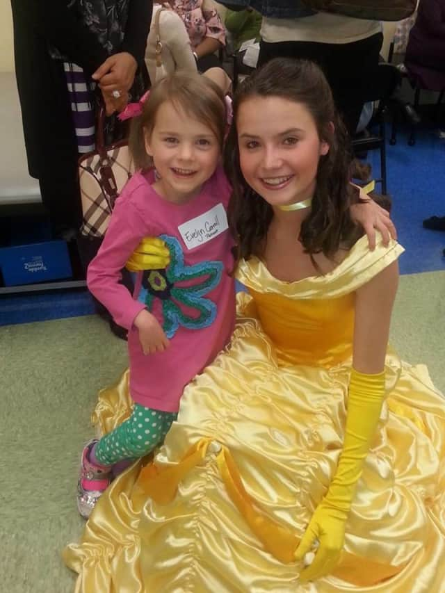 Put on your best ballgown because for the Princess Breakfast in Oradell.