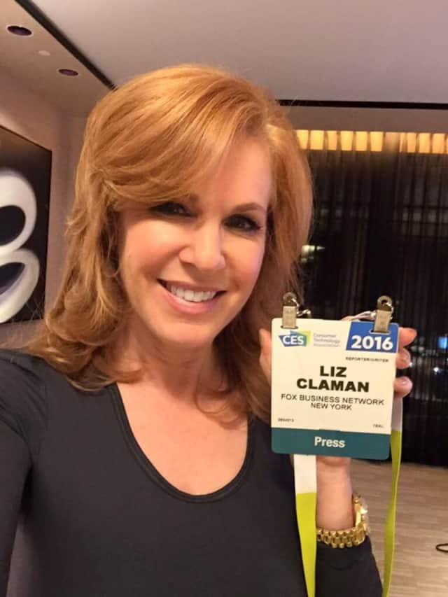 """Described by """"Vanity Fair"""" as one of television's best business reporters and anchors, Fox's Liz Claman of Edgewater, once worked for CNBC in Fort Lee and Englewood Cliffs. She turns 53 today."""