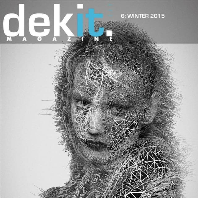 The digital cover of issue 6 of Dekit Magazine