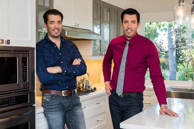 """Drew and Jonathan Scott of the """"Property Brothers"""" on HGTV."""