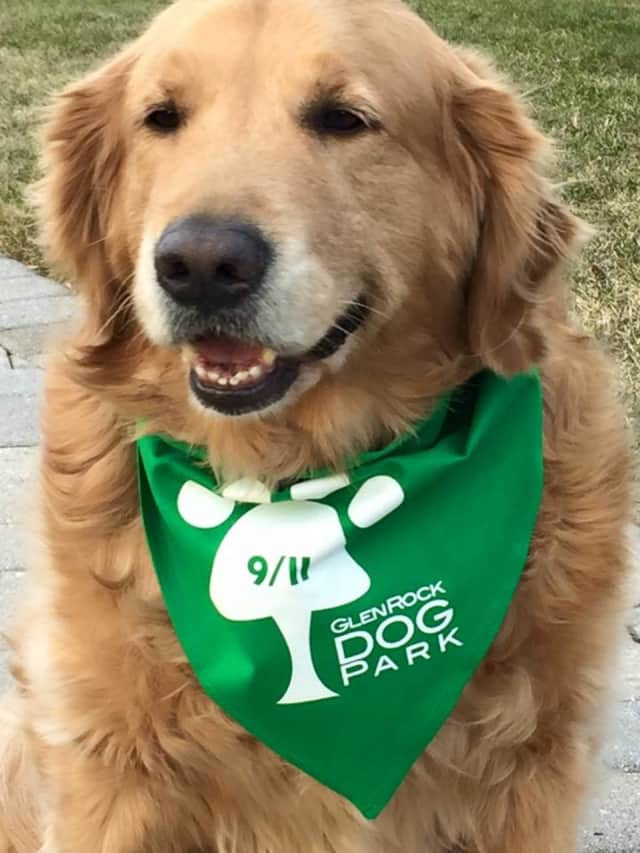 Purchase a Glen Rock Dog Park bandana for $5 to help build a dog park in Glen Rock.  A breakfast with Santa fundraiser for the cause is scheduled for Saturday.