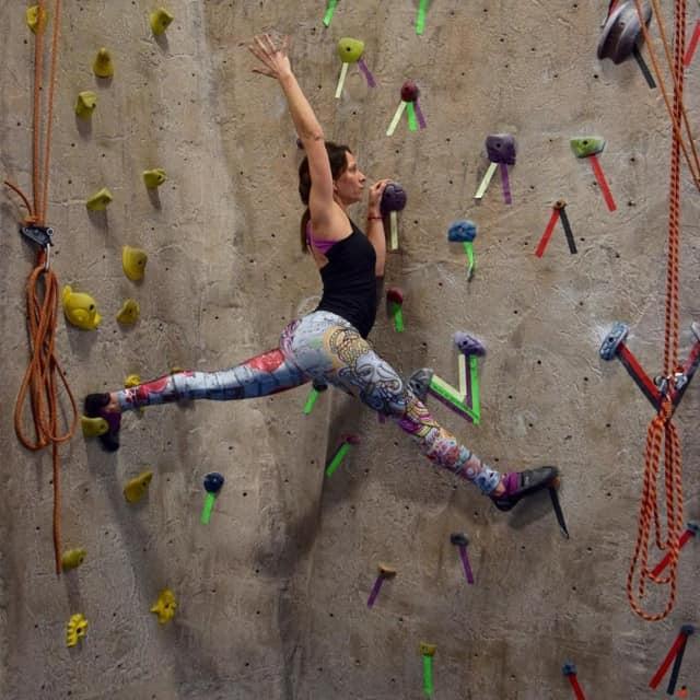 """Rachel Zucker Dewan will lead yoga """"on the rocks"""" in Upper Saddle River."""
