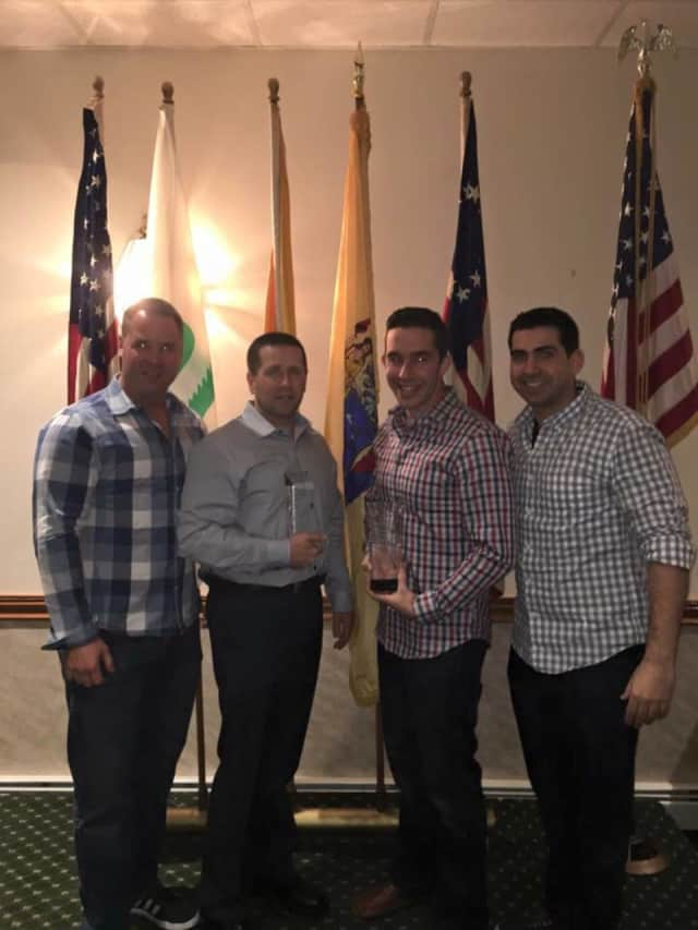 Detective Vincent Aiello of the Closter Police Department was recognized by the Closter Elks Lodge as Officer of the Year.