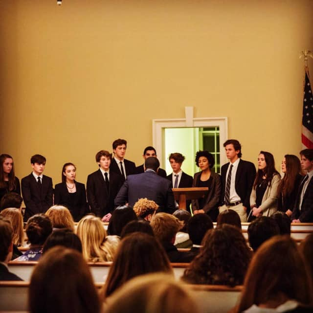 Millbrook High School students honored Martin Luther King Jr. this week with a special chapel service.
