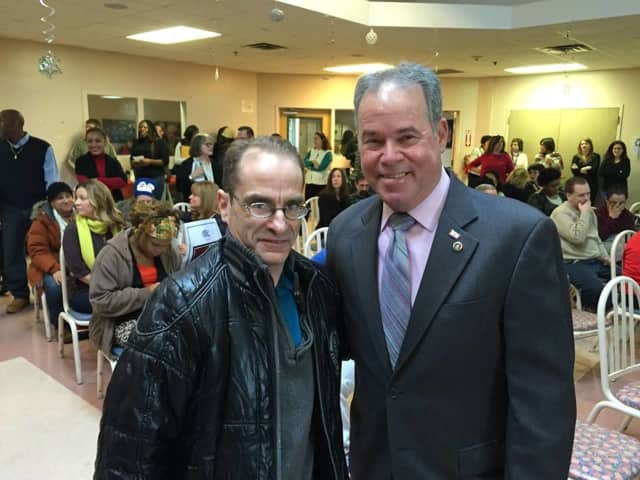 Rockland County Executive Ed Day celebrated at ARC of Rockland's annual Dr. Martin Luther King Jr. celebration Friday in Congers.