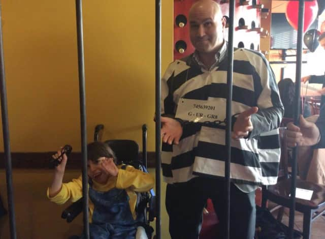 Get 'locked-up' for a good cause when the Muscular Dystrophy Association holds its annual 'Lock-Up' event in Danbury to raise funds for the organization on March 24.