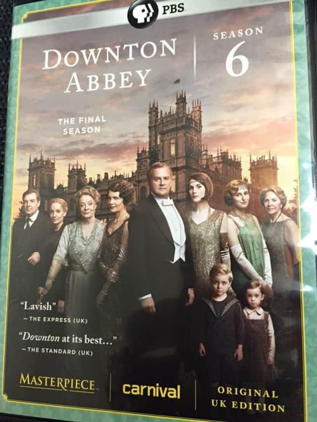 """""""Downtown Abbey: Season 6, The Final Season"""" came into La Grange Library in Poughkeepsie."""