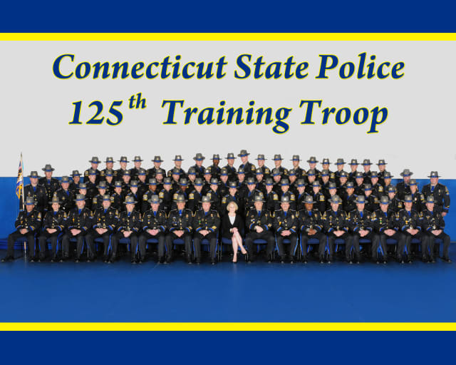 The 125th Training Troop of the Connecticut State Police