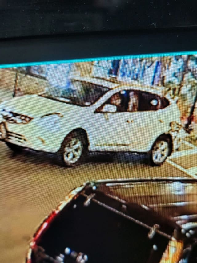 Authorities are seeking the driver of a white Nissan Rogue wanted in a deadly Hudson County hit-and-run.
