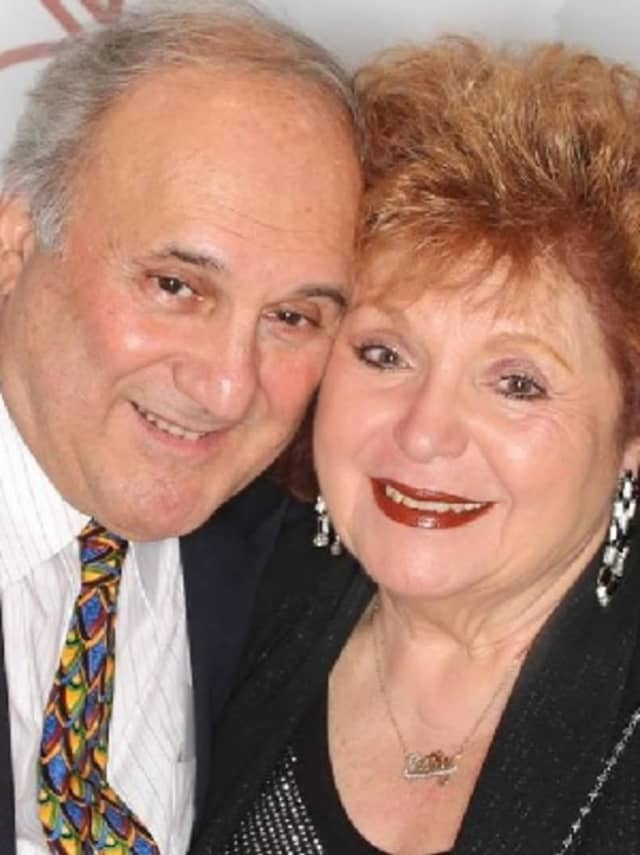 North Arlington Mayor Joseph Bianchi with his wife, Catherine