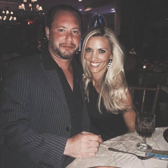 Scott Taglia of Franklin Lakes and his wife, Michele.