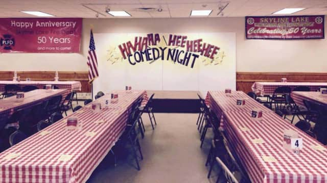 Skyline Fire Department in Ringwood will hold a comedy night.