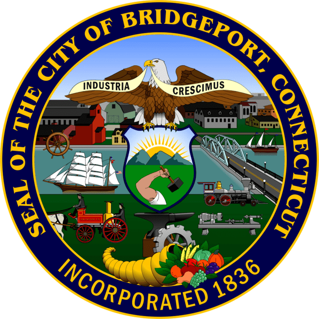 The seal of the City of Bridgeport