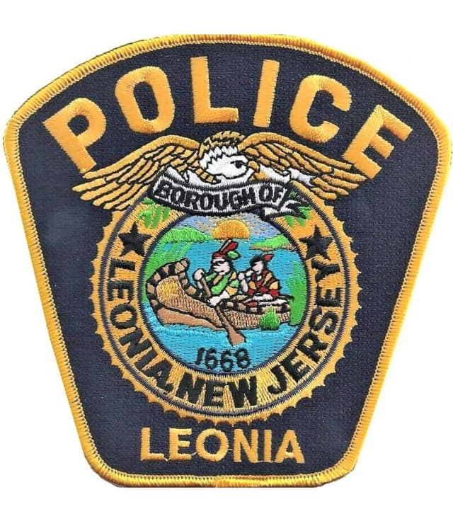 Leonia police patch