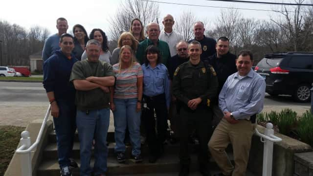 Dispatcher Loretta Harsche is retiring after eight years with the Easton Police Department.