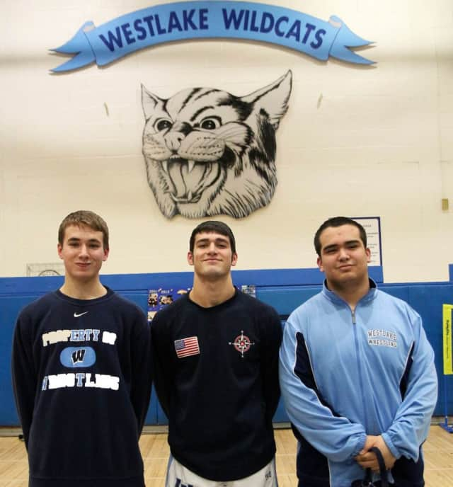 Three seniors from the Wildcats wrestling team were celebrated for their leadership and dedication.