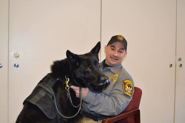 Officer Shawn Murray and K-9 Loki will be at the RVNA 5th Annual Spelling Bee.