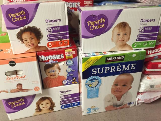 A diaper drive in Northvale runs through the end of April.