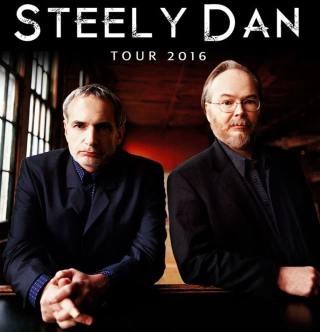 Steely Dan will kick-off their spring tour with two performances in Port Chester on April 18 and 19.
