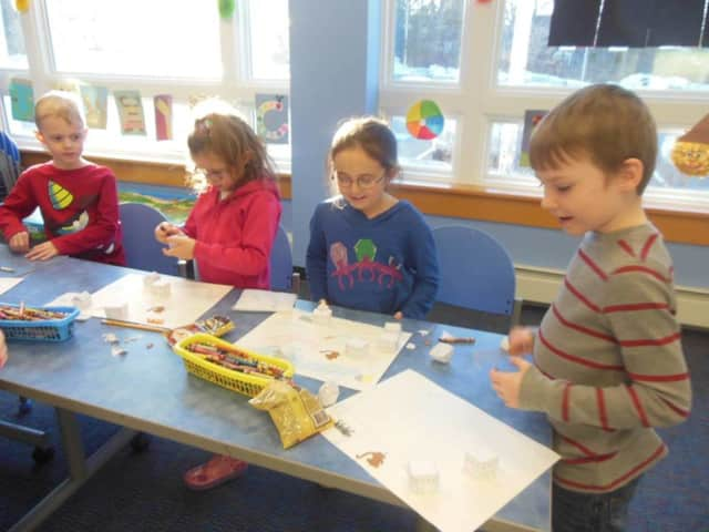 People of all ages can participate in the Cardboard Challenge at the Wyckoff Free Public Library.