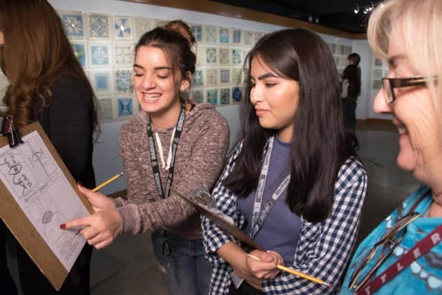 Students pursuing art in college can apply for the Community Arts Association of Allendale scholarship.