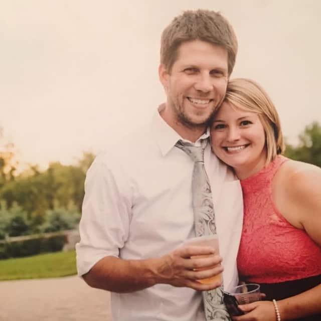 Kimberly Erin Pedersen and her fiance, Chris Korwan.