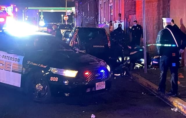 Another victim was gunned down off the corner of Van Houten and Summer streets in Paterson on Thanksgiving Eve.
