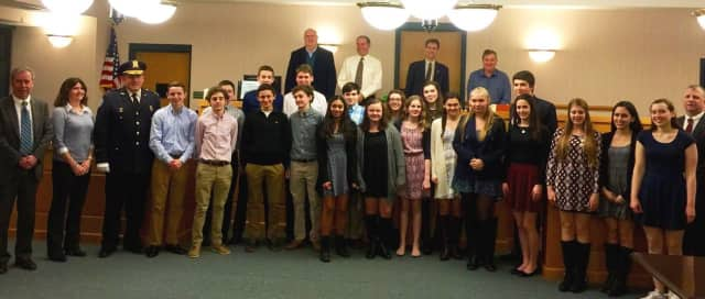 These Orangetown Youth Court members recently completed extensive training.