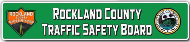 Student J.T. Mancini designed this winning logo for the Rockland County Traffic Safety Board.