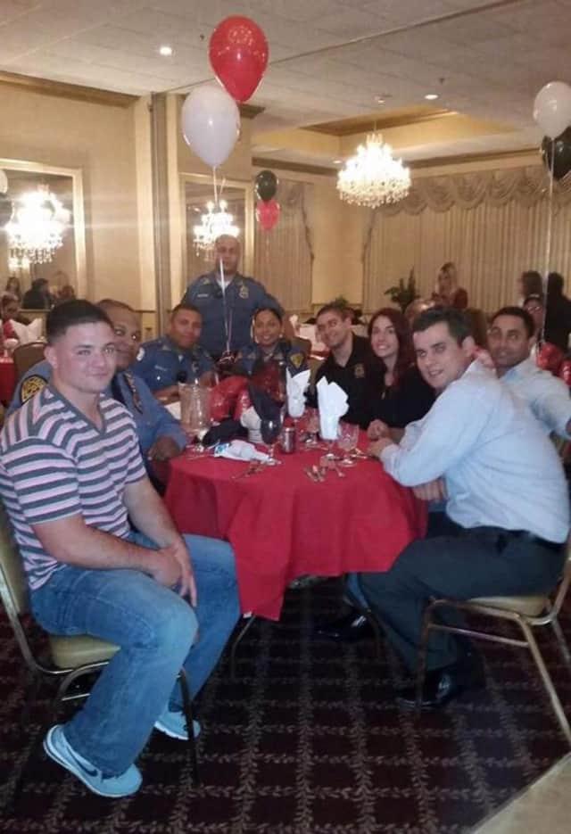 Haledon PBA at a banquet.