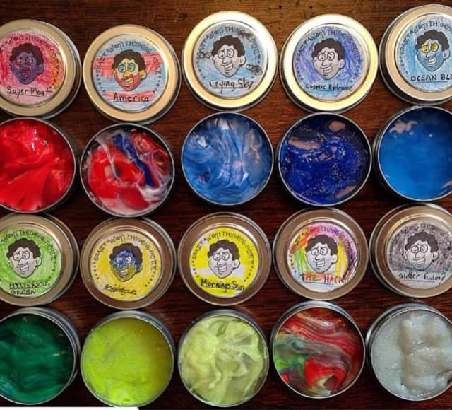 Make your own putty at Reebel Brain & Body Fitness, in Waldwick.