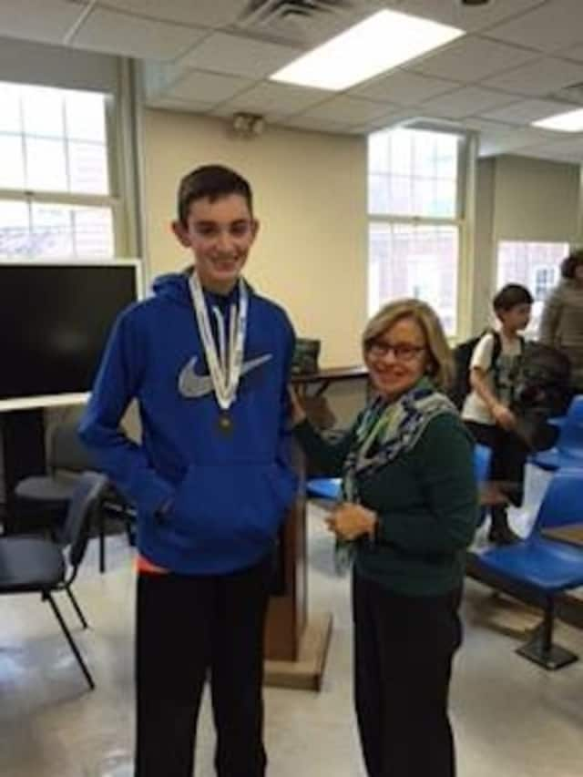 Sean Leyden will compete in the state's National Geographic Geography Bee.